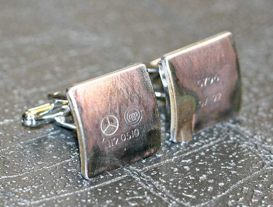 Car Part Cufflinks by Steven Shaver