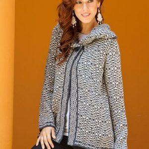 gray alpaca sweater