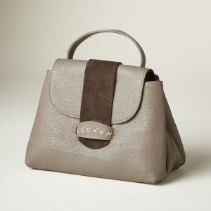 Bacini Leather Handbag