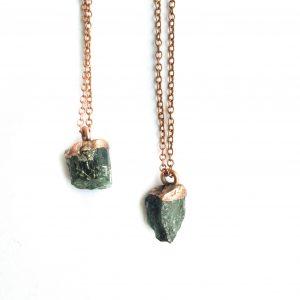 Emerald Crystal Necklace
