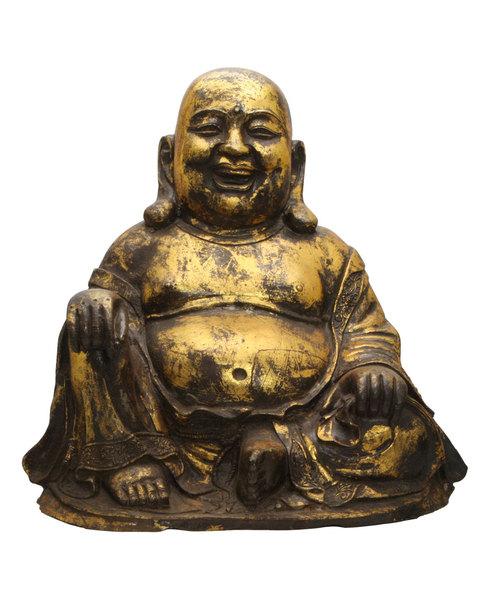 Cast Iron Happy Buddha