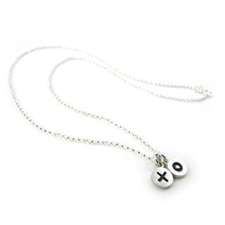X and O (Hugs and Kisses) Necklace