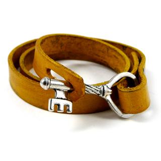 Women's Jewelry Leather Wrap Bracelet with Key Closure