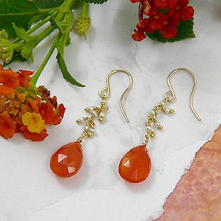 Tangerine Tango Earrings