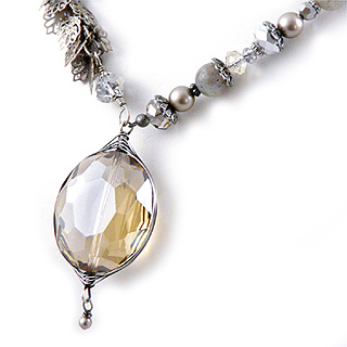 Windsor Collection Crystal Pendant Necklace