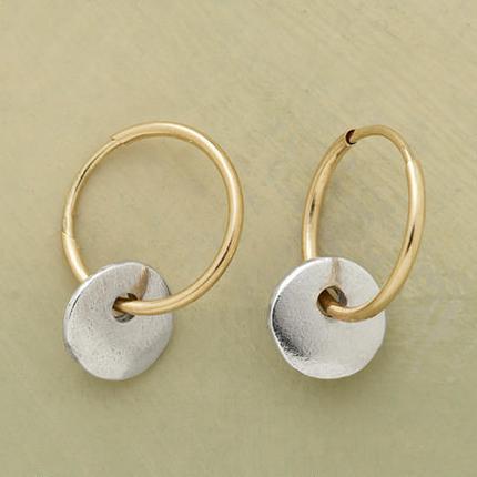 Moons and Sun Earrings