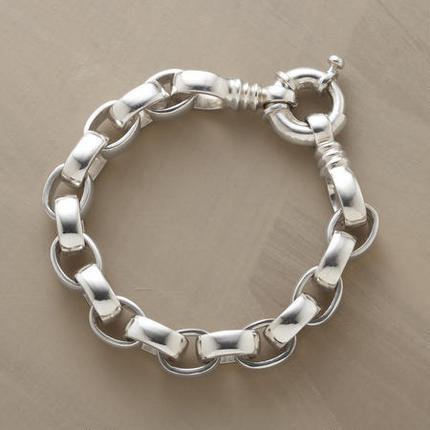 Handmade Silver Link Bracelet