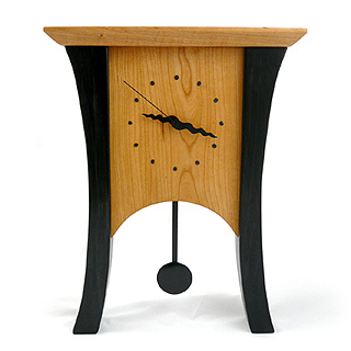 Black Cherry Pendulum Clock