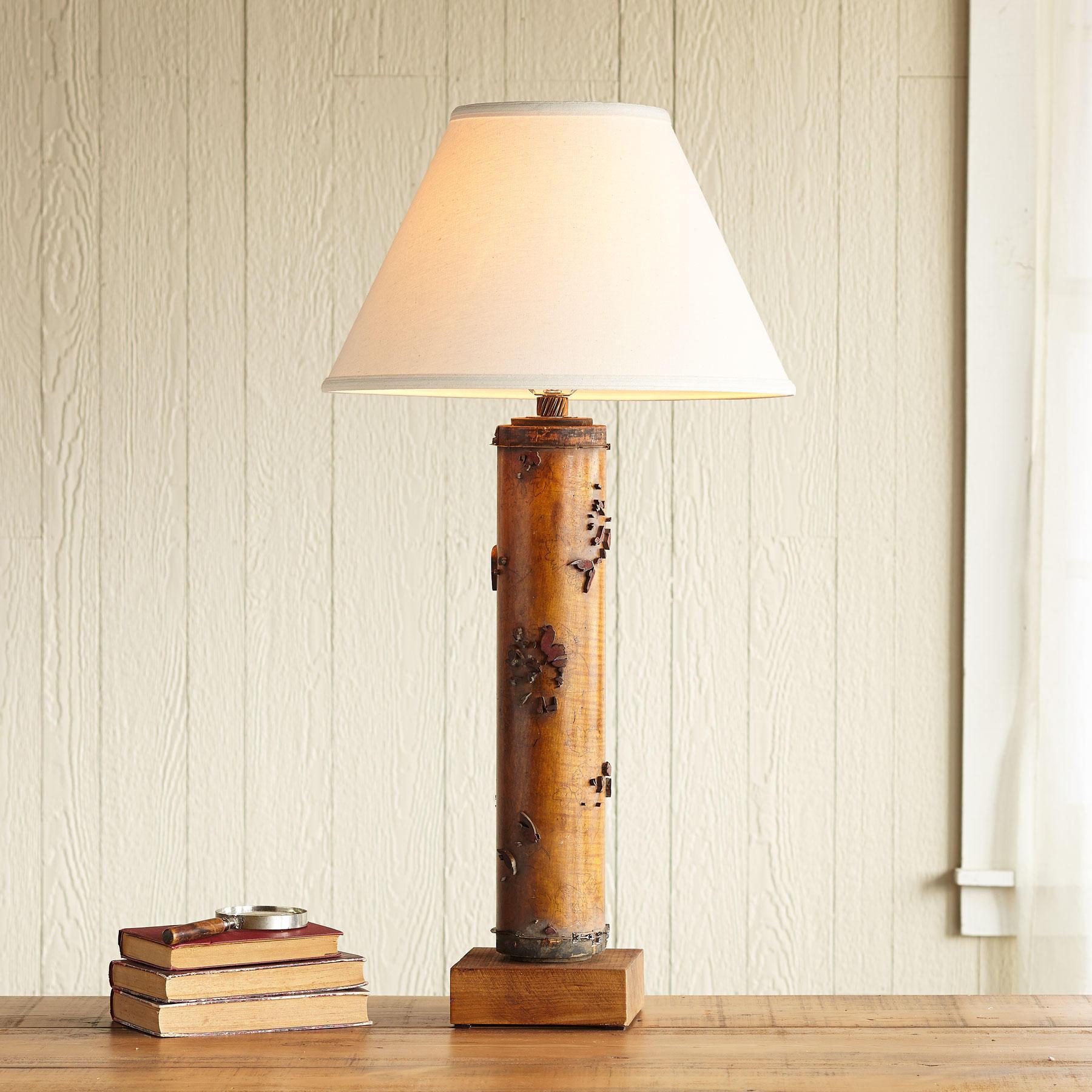 One-of-a-kind Hardwick Vintage Roller Lamp