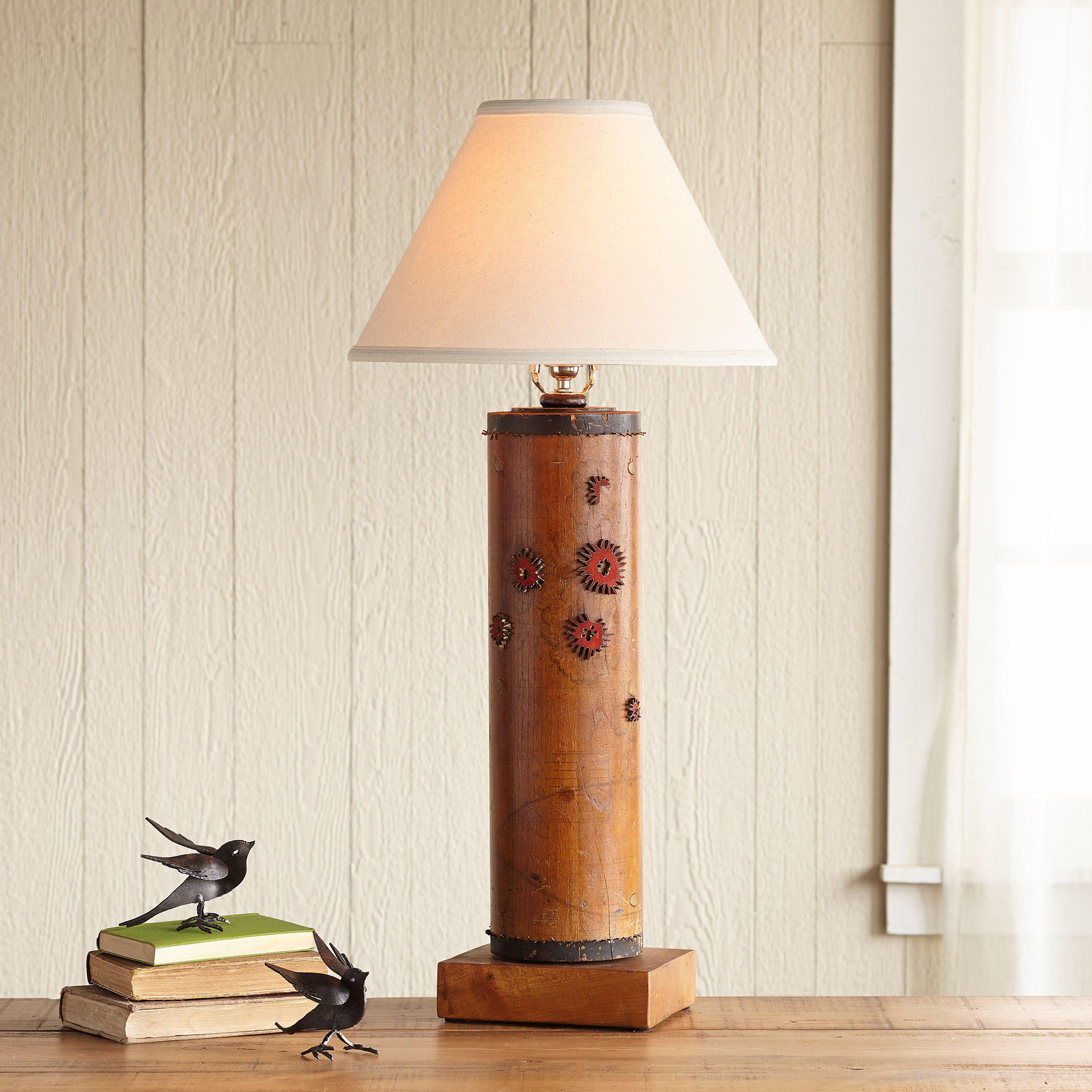 One-of-a-kind Woburn Vintage Roller Lamp