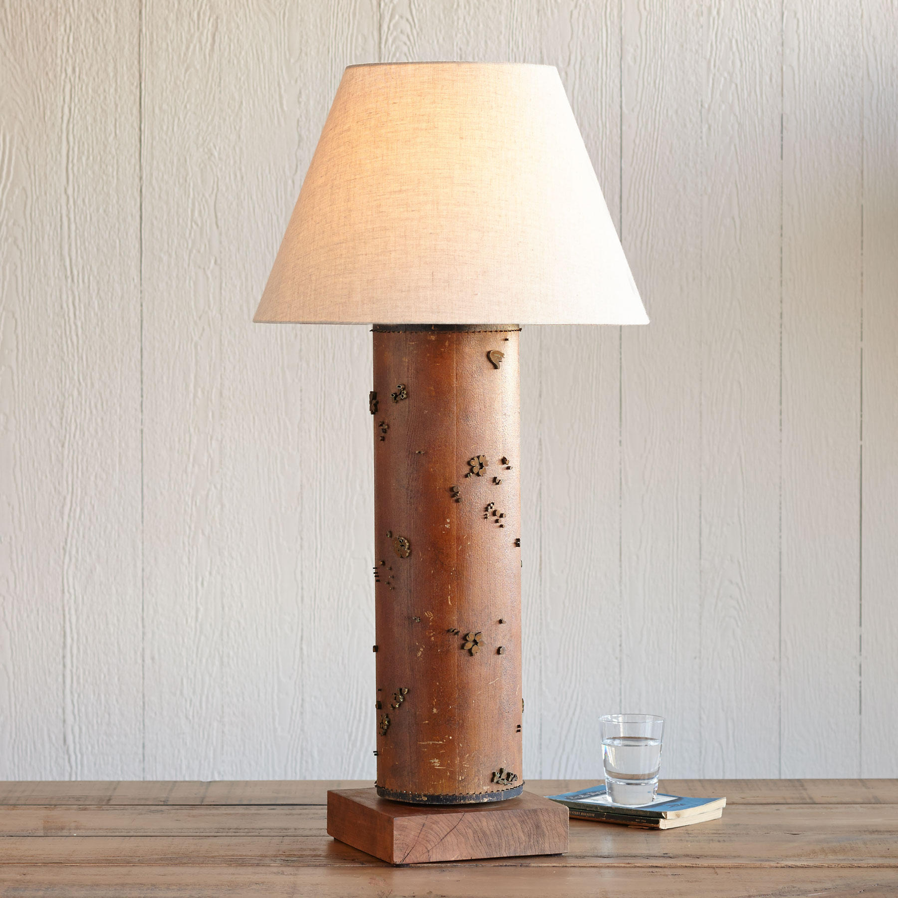 One-of-a-kind Bletchley Vintage Roller Lamp
