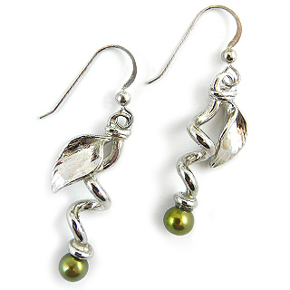 Twining Pea Earrings