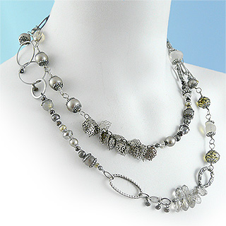 "Windsor Collection 42"" Double Wrap Necklace"