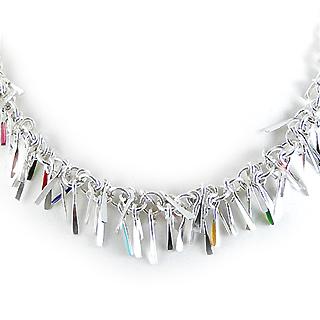Sterling Silver Shimmy Necklace