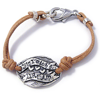 Girl With a Dream Bracelet