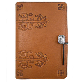 Da Vinci Refillable Embossed Leather Journal