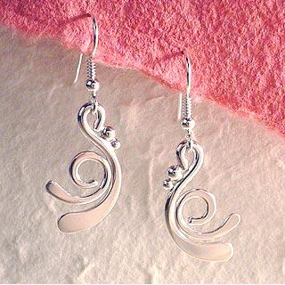 Orion Sterling Silver Earrings
