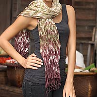 Scarf, 'Fabulous Earth'