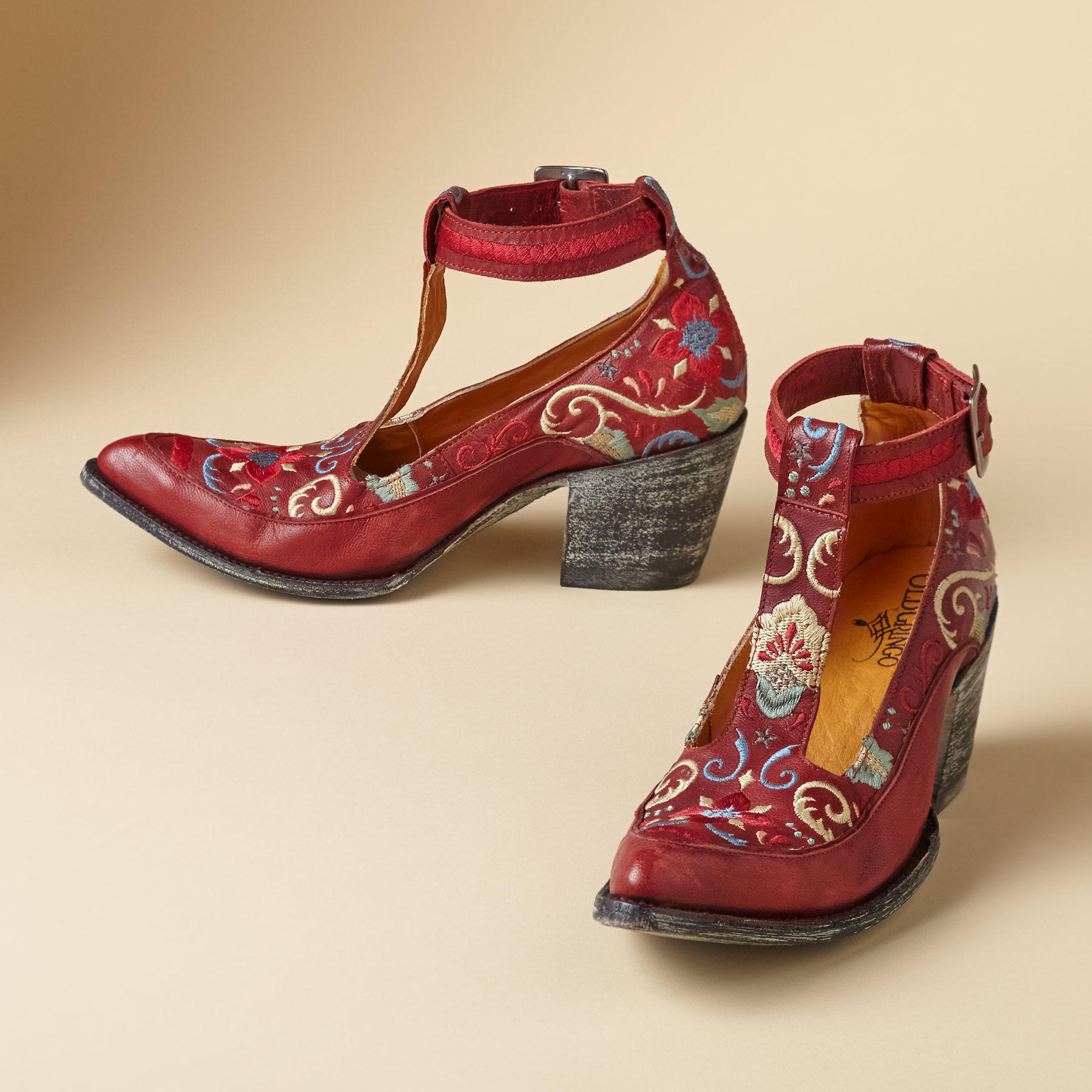 Old Gringo Deborah Rico T-strap Shoes