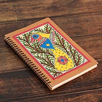 Madhubani journal, 'Bihar Songbird'