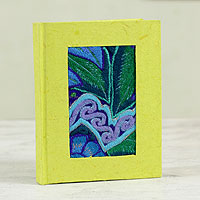 Recycled paper journal, 'Chiapas Beauty'