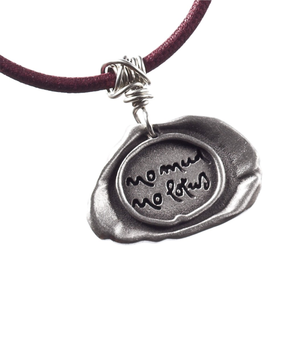 Thich Nhat Hanh No Mud No Lotus Pendant Necklace