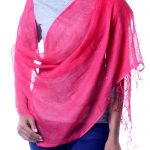 Handcrafted Linen Shawl