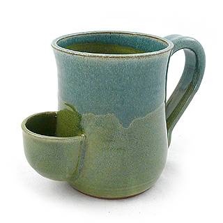 Stoneware Tea Bag Mug