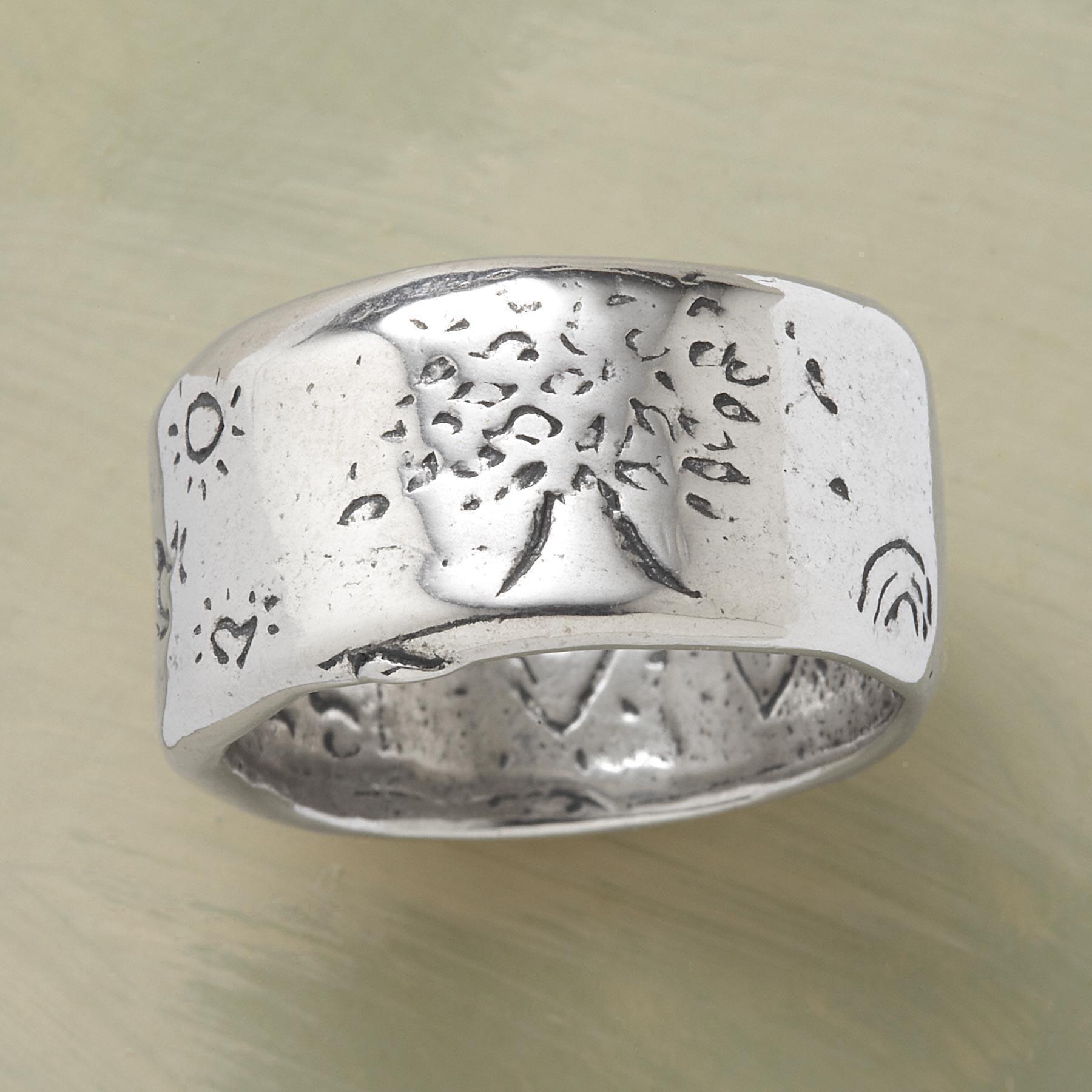 Sterling Silver Strength Ring