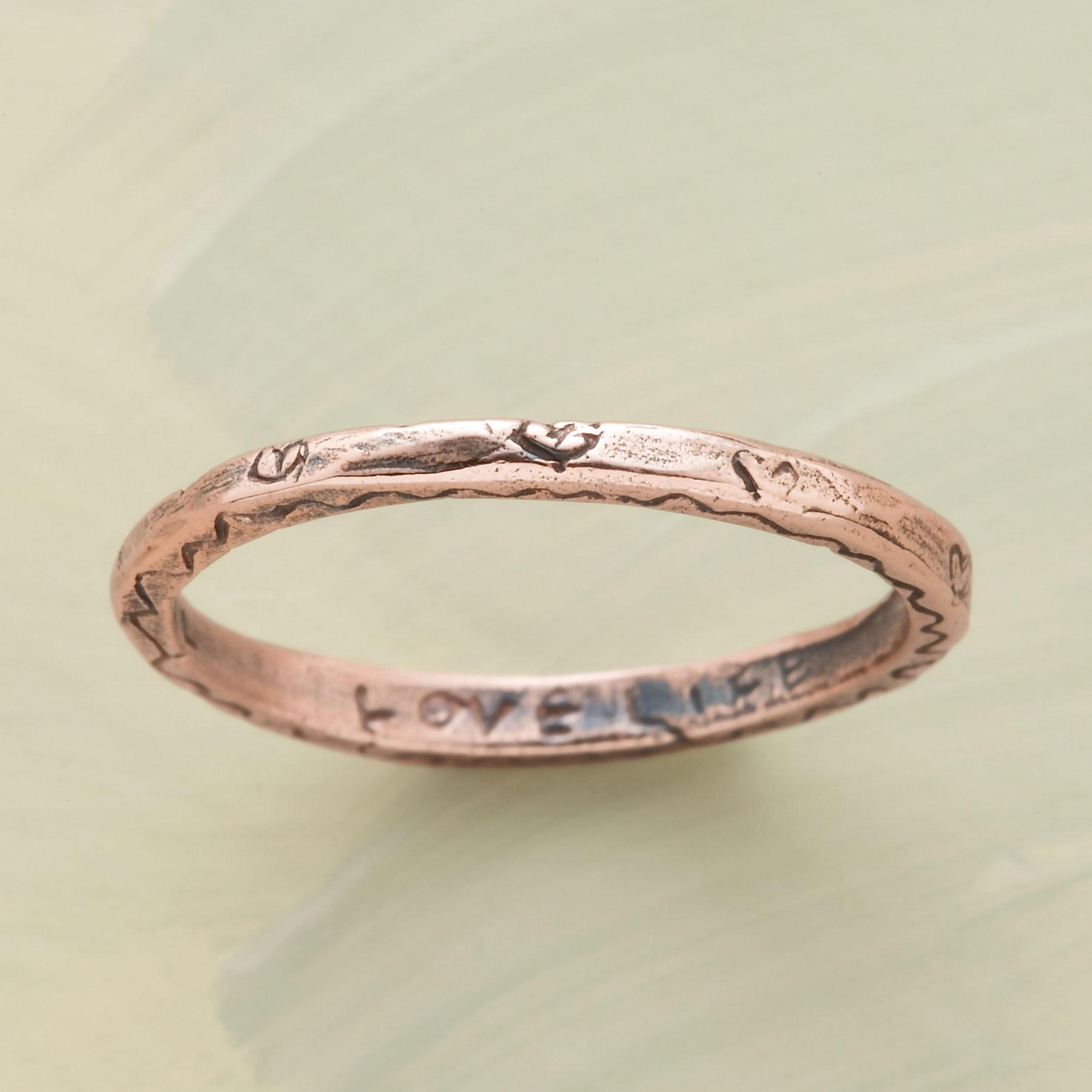 Rose Gold Vitality Ring