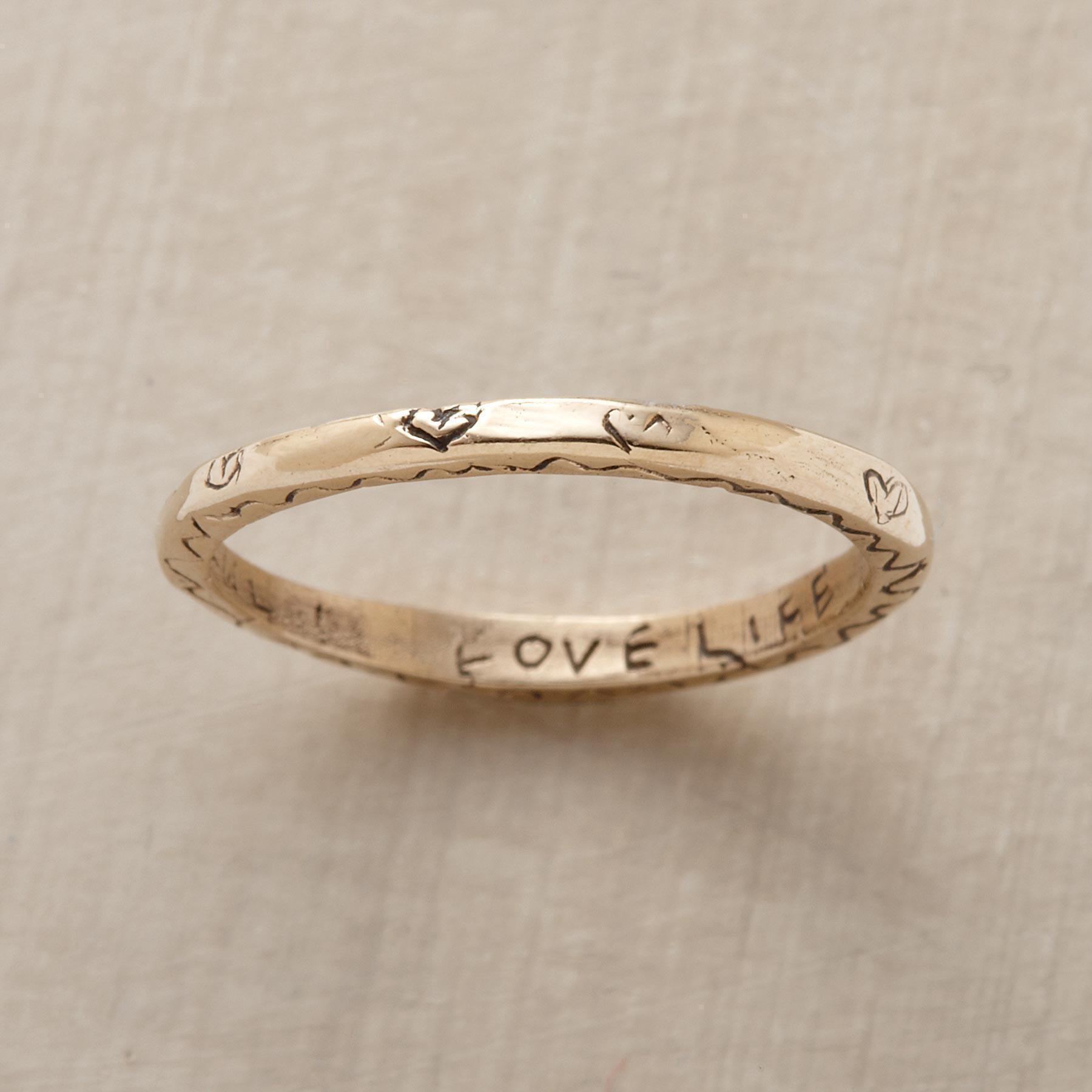 Yellow Gold Vitality Ring
