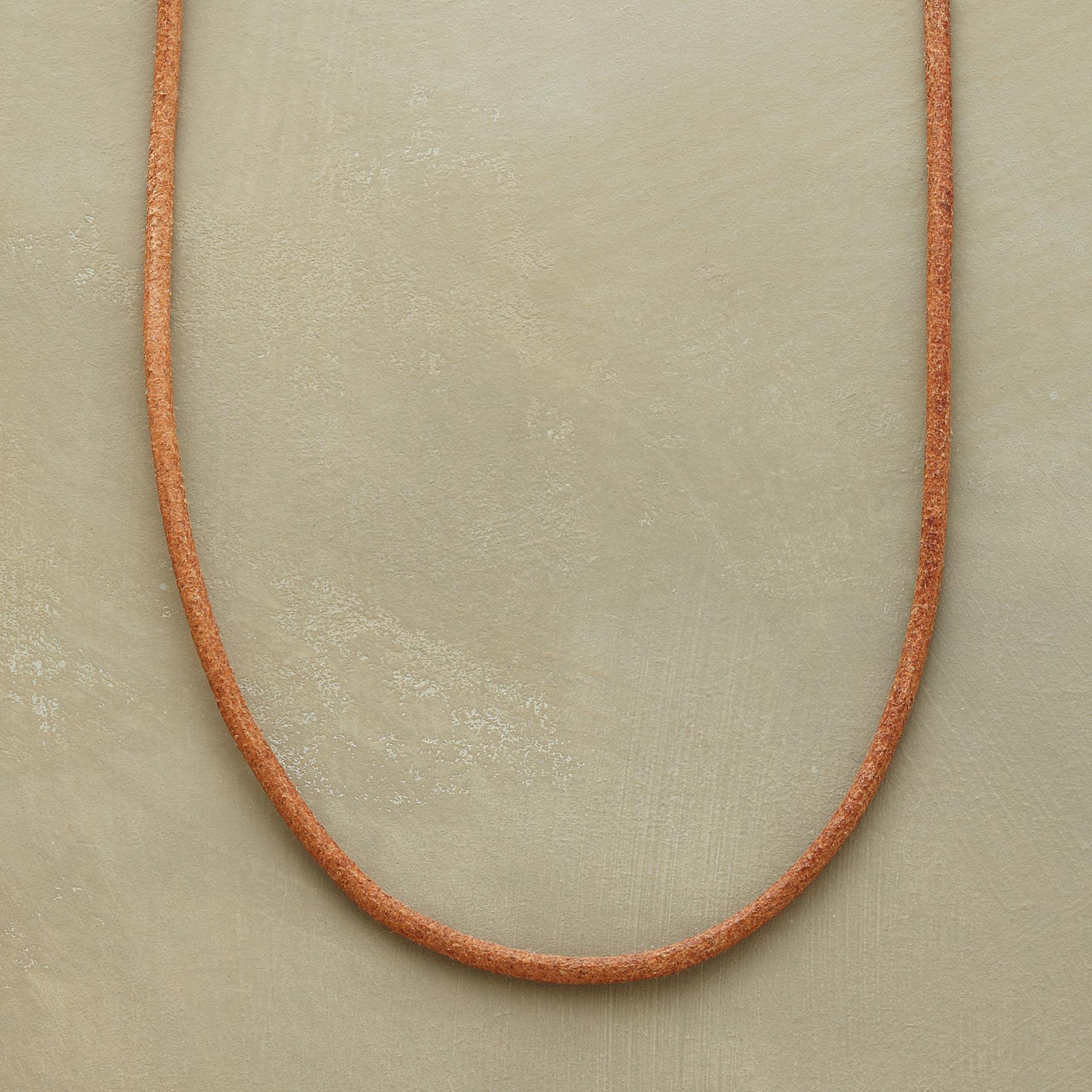Leather Charmstarter Necklace Sundance Handcrafted Artisan Jewelry