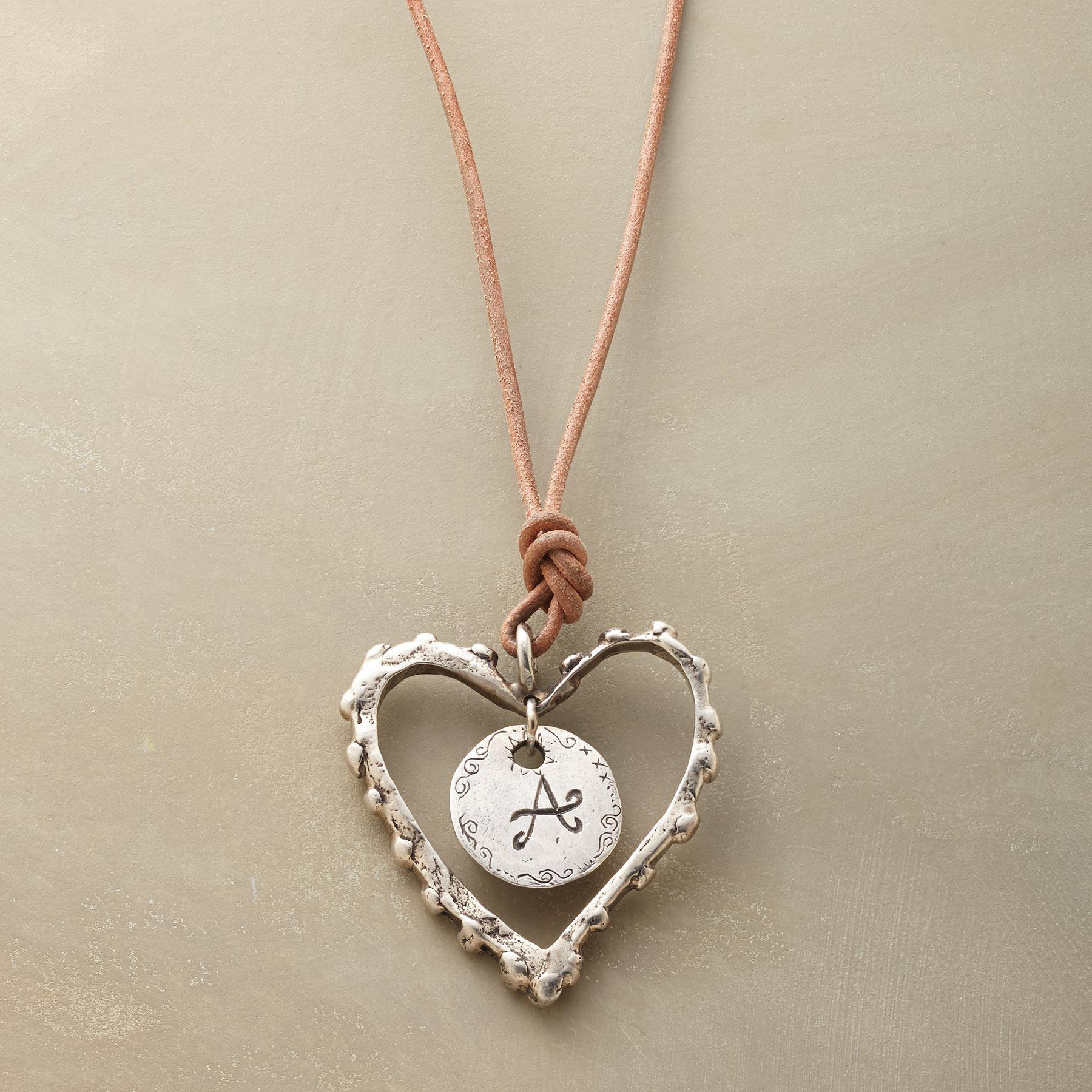 Personalized Love Note Necklace