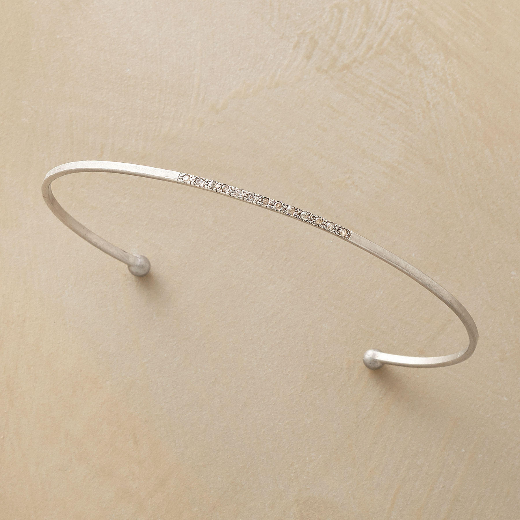 Diamond Whisper Cuff Bracelet
