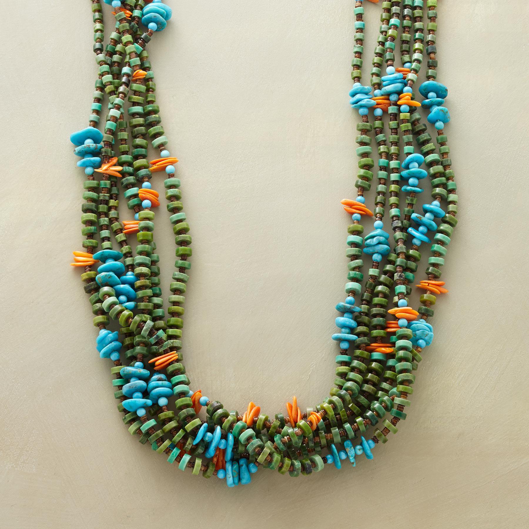 Turquoise Santo Domingo Pueblo Necklace
