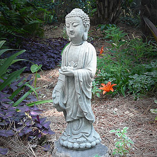 Standing Shakyamuni Buddha Statue