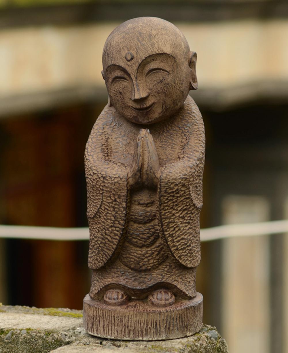Garden Jizo Statue, 16 Inches