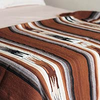 100% alpaca blanket, 'Inca Graphics'