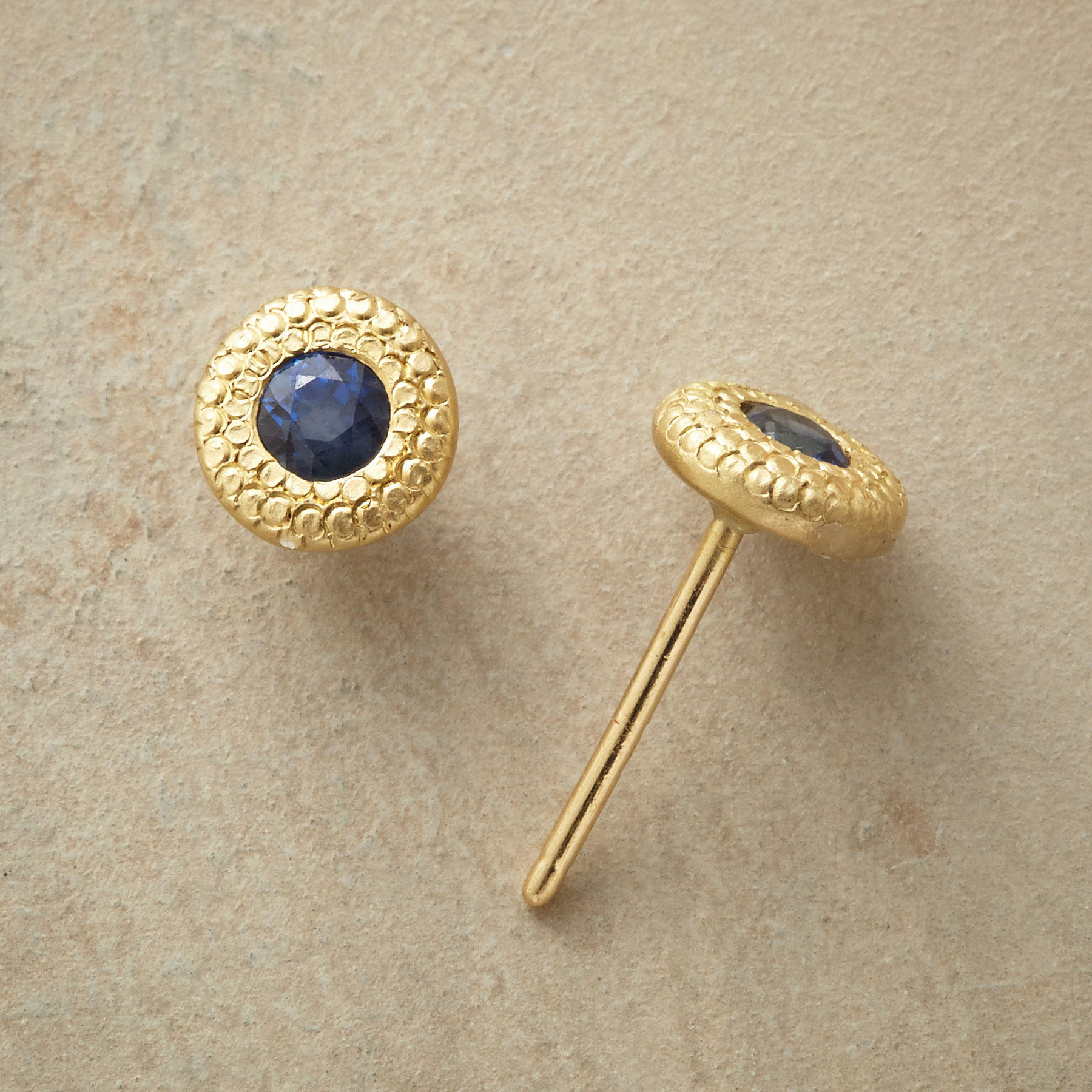 Sandy Shores Sapphire Earrings
