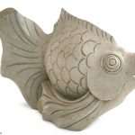 Sandstone Fish Sculpture
