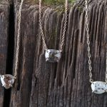 Natural Rose Cut Diamond Necklace by Alexis Russell