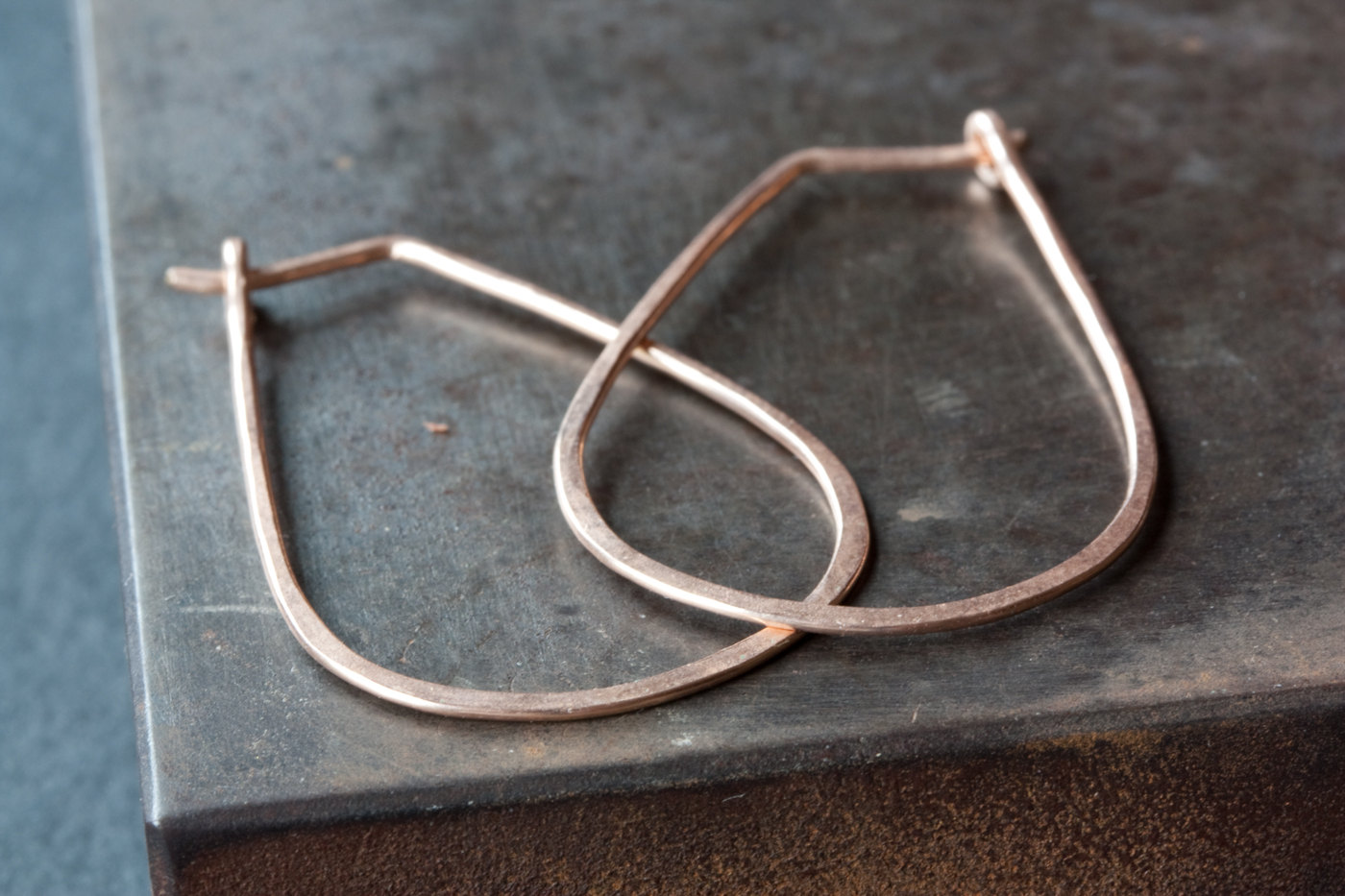 Small Horseshoe Hoop Earrings by Alexis Russell