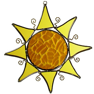 Sun Shaped Suncatcher