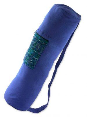 Bright Blue Yoga Mat Bag