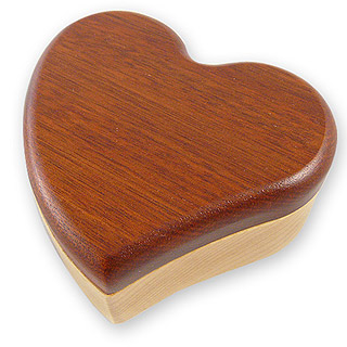 Heart Shaped Puzzle Box