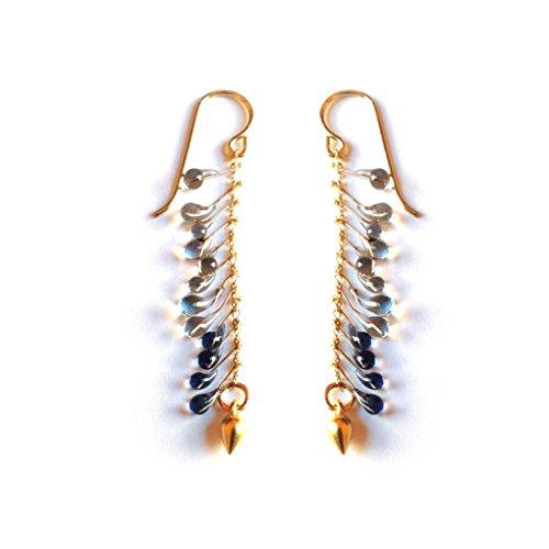 Glass Drop Earrings by Jess Panza
