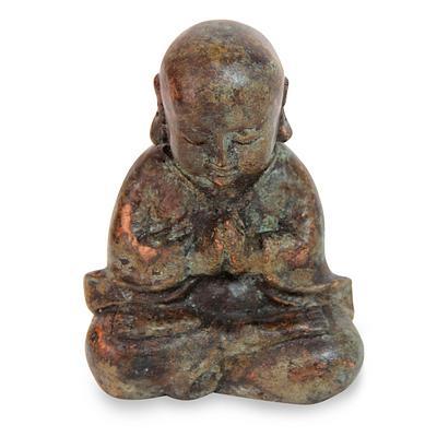 Praying Baby Buddha Statue by Elayanti
