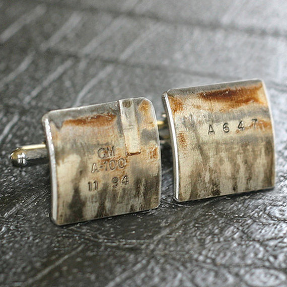 Auto Part Cufflinks by Steven Shaver