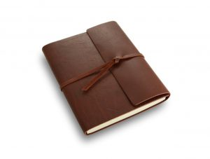 Rustic Leather Writer's Book