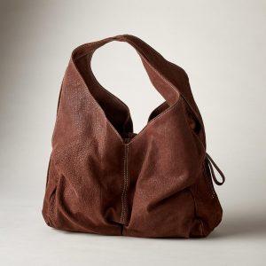 Roomy Sheepskin Leather Bag